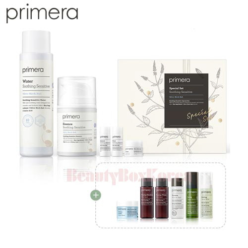 PRIMERA Soothing Sensitive Set 11items [Monthly Limited - January]
